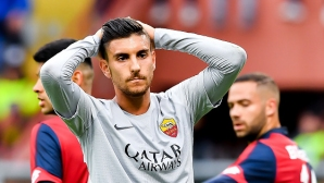 Шампионската лига вече е мираж за Рома след драма в Генуа (видео)