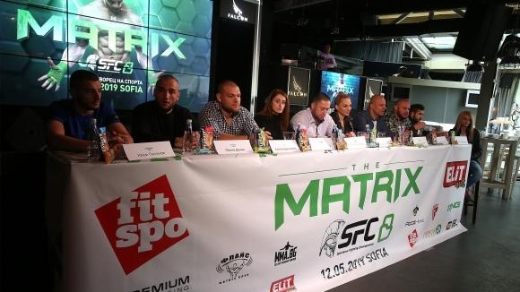 Пресконференция преди SFC 8 - The Matrix (видео)