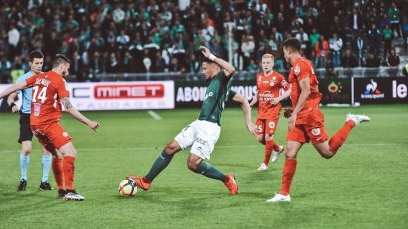 Монпелие спря победната серия на Сент Етиен