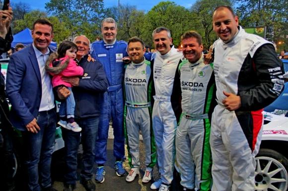 Шампионите на старт на 50-ото рали България