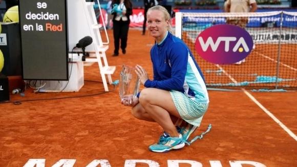 Бертенс спечели титлата в Мадрид