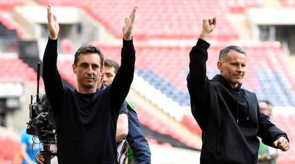 Отборът, собственост на легенди на Ман Юнайтед, стигна до промоция в Лига 2