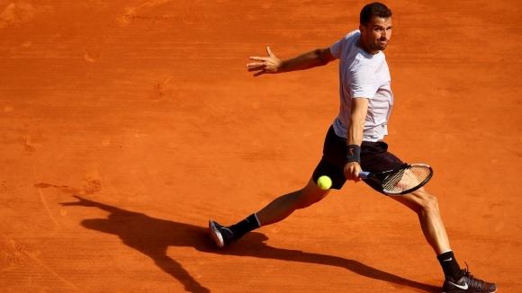 """Григор Димитров започва утре участието си на турнира от сериите """"Мастърс"""" в Рим"""