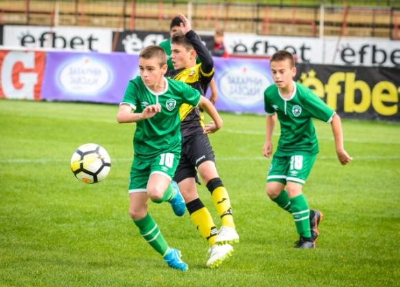 Лудогорец U14 загуби финала за купата на БФС от Ботев (Пловдив)