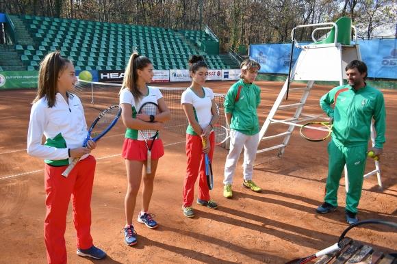 """Българската и Румънската тенис федерации със съвместен проект """"Тенисът и животът"""""""