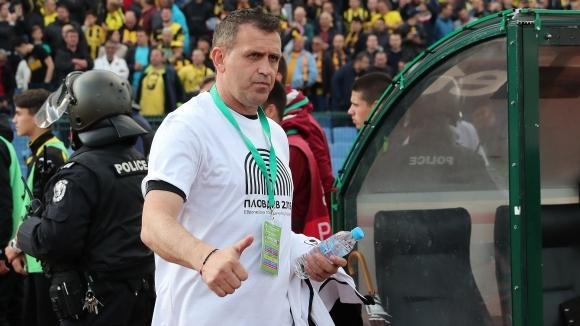 Акрапович иска да запази състава на Локомотив (Пловдив)