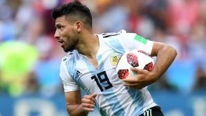 Аржентина опря до Агуеро след силния му сезон