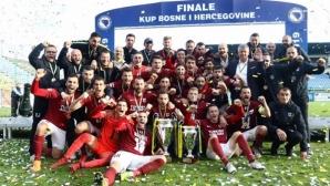 ФК Сараево спечели купата на Босна и Херцеговина