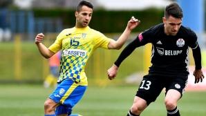 Боби Цонев с красив гол срещу Динамо (Загреб) (видео)