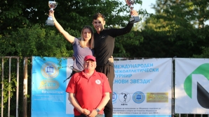 """Милена Миткова и Даниел Анков спечелиха скока на дължина на """"Нови звезди"""""""
