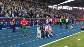 Отборът на Рангелов изпадна в четвърта лига на Германия