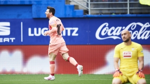 Ейбар - Барселона 1:2, Меси се развихри