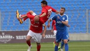 Огромен провал за ЦСКА 1948, тимът остава във Втора лига и догодина (видео)