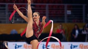 Боряна Калейн донесе и трети медал за България от Европейското по художествена гимнастика