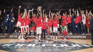 ЦСКА (Москва) е на върха на баскетболна Европа