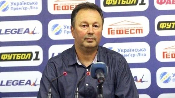 Избраха Ангел Червенков за най-добър треньор на 30-ия кръг в Украйна