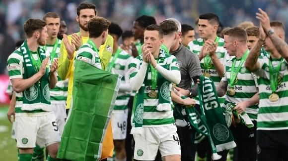 Селтик победи Хартс и спечели 39-ата си Купа на Шотландия
