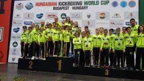 53 медала за България от Световната купа по кикбокс в Унгария