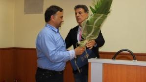 Кметът на Пазарджик награди Митов и Хебър