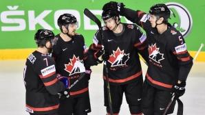 Канада разгроми Дания на Световното