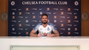 Официално: Жиру остава в Челси и през следващия сезон