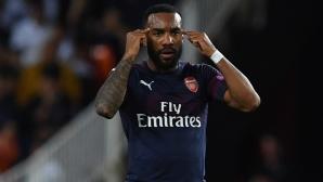 19 гола и 13 асистенции не стигат - Лаказет пак е извън националния