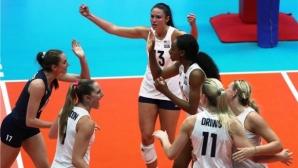 САЩ започна без проблеми срещу Белгия в Лигата на нациите в Русе (видео)