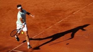 """Роджър Федерер се завърна на """"Ролан Гарос"""""""