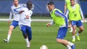 Сари вярва, че Канте ще може да играе във финала на Лига Европа