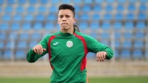 Кун Теменужков попадна в състава на младежкия национален отбор