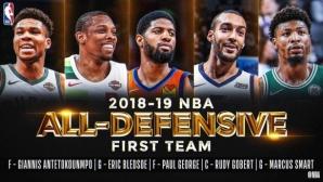 Посочиха най-добрите защитници в НБА