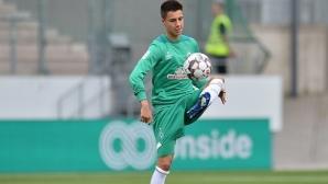 Груев-младши започва подготовка с първия отбор на Вердер
