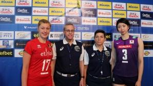 Белгия и Япония играят в първия мач в Русе