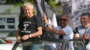Крушарски: Ако искат стадион и успехи, някой трябва да спонсорира