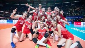 Турция нанесе първа загуба на световния шампион Сърбия (видео + снимки)