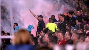 Арестуваха 23-ма фенове на Барса в Севиля