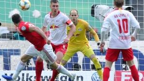РБ (Лайпциг) 0-0 Байерн, следете мача тук