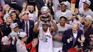 Торонто стана първият канадски отбор, достигнал до финала в НБА
