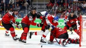 Канада се класира за финала на Световното първенствно по хокей на лед
