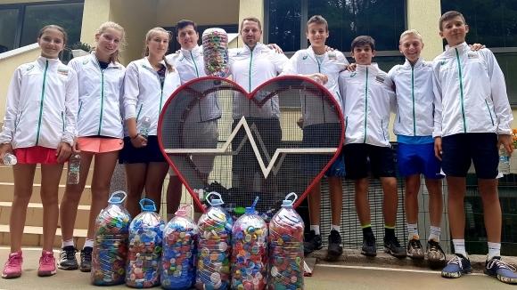 Националите по тенис до 14 г. дариха