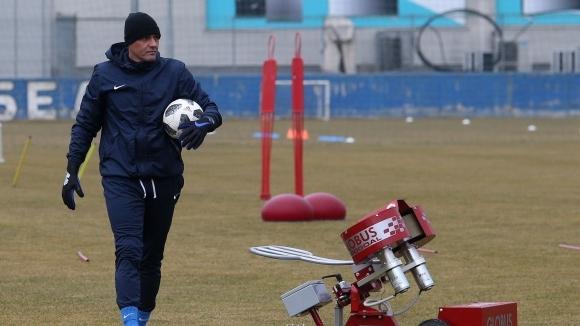Иванков вече не е треньор на вратарите в Левски