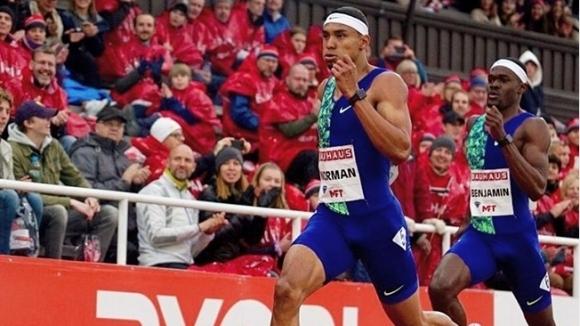 Браун нанесе поражение на Гулиев на 200 м, Норман №1 на 400 м в Стокхолм