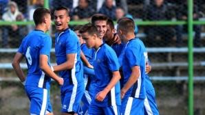 Талантите на Левски взеха аванс във финала срещу Септември (видео)