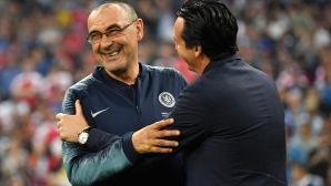 Сари посвети триумфа на Челси на феновете на Наполи