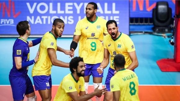 Олимпийските шампиони от Бразилия с феноменален обрат и победа над Иран (видео + снимки)