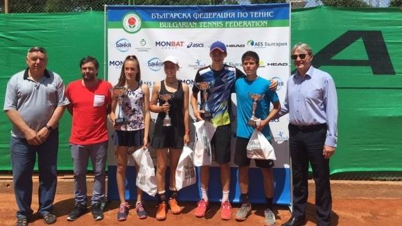 Нестеров е троен шампион на Държавното първенство по тенис