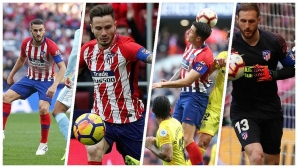 Новите капитани на Атлетико
