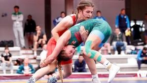 Сезен Белберова спечели бронз на Европейското по борба
