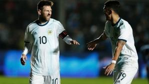 Меси се позабавлява и вкара два гола за две минути (видео)