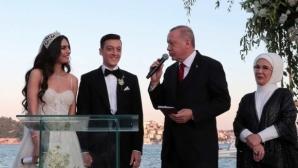 Йозил се ожени край Босфора, Ердоган гостува на сватбата